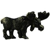 Sierra Lifestyles 681466, Pull, Moose Pull, Bronzed Black, Rustic Lodge
