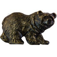 Sierra Lifestyles 681554, Pull, Grizzly Pull, Bronzed Black, Rustic Lodge