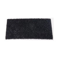 WE Preferred 0585450100961 60 Abrasive Hand Pads, Non-Woven, Black, 6 x 9in
