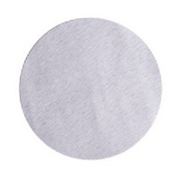 Pacific Abrasives 5 150 PASCO SICLUBE VEL, Abrasive Discs, Silicon Carbide on A-Weight Paper, 5in, No Hole, Hook & Loop, 150 Grit