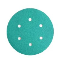 WE Preferred 8506333028961 50 Abrasive Discs, Aluminum Oxide on Film, 6in, 6-Hole, Hook & Loop, 280 Grit