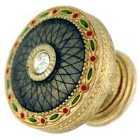 Emenee FAB1005-RG, Handle , Faberge Round Parasol, Russian Gold