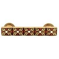 Emenee FAB1008-RG, Handle Pull, Faberge Parasol, Russian Gold