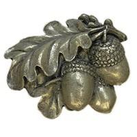 Emenee LU1234AGB, Knob, Acorn, Aged Brass