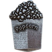 Emenee LU1241POL, Knob, Popcorn, Polished Silver