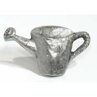 Emenee MK1094AMS, Knob, Watering Can, Antique Matte Silver