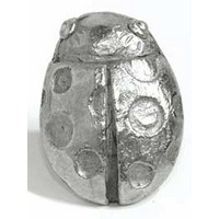 Emenee MK1097AMS, Knob, Lady Bug, Antique Matte Silver