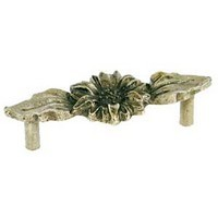 Emenee OR262ABR, Handle, Sunflower, Antique Matte Brass