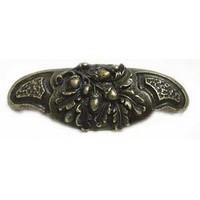 Emenee OR302AMS, Pull, Acorn Bin, Antique Matte Silver