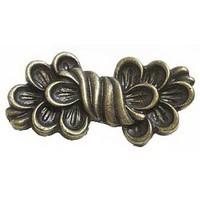Emenee OR310ABB, Pull, Fleurish, Antique Bright Brass