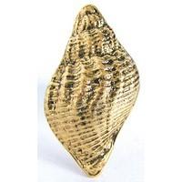 Emenee OR106AMS, Knob, Traditional Seashell, Antique Matte Silver