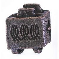 Emenee OR179ACO, Knob, Antique Toaster, Antique Matte Copper