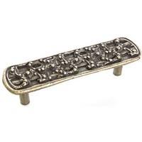 Emenee OR184ABB, Pull, Design, Antique Bright Brass