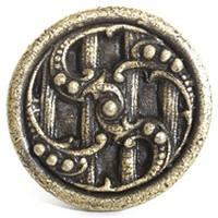 Emenee OR189AMS, Knob, Design, Antique Matte Silver