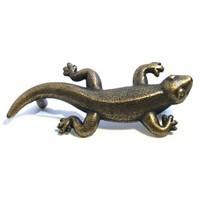 Emenee OR368ACO, Handle, Gecko, Antique Matte Copper