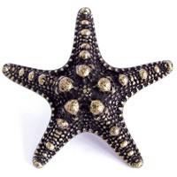 Emenee OR421AMS, Knob, Sea Star, Antique Matte Silver
