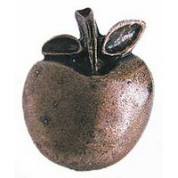 Emenee PFR122ENM, Knob, Large Apple, Enamel