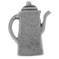 Emenee PFR115ABR, Knob, Coffee Pot, Antique Matte Brass