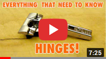 Cabinet Door Hinges || Everything you need to Know video clip