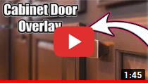 Cabinet Door Overlay video clip