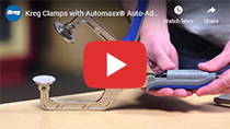 Kreg Clamps with Automaxx Auto-Adjust Technology video clip