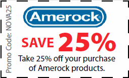 Amerock Coupon - Save 25% off Amerock products with code NOVA25