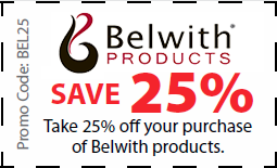 Belwith Products Coupon - Save 25% on Belwith products with coupon BEL25