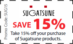 Sugatsune Coupon for 15% off Sugatsune products - coupon SUG15