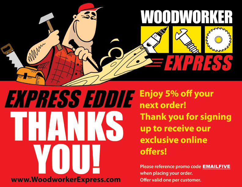 Image with coupon EMAILFIVE to give you 5% off your next order for signing up to our mailing list